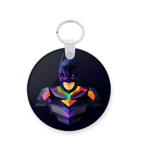 Batman printed keychain